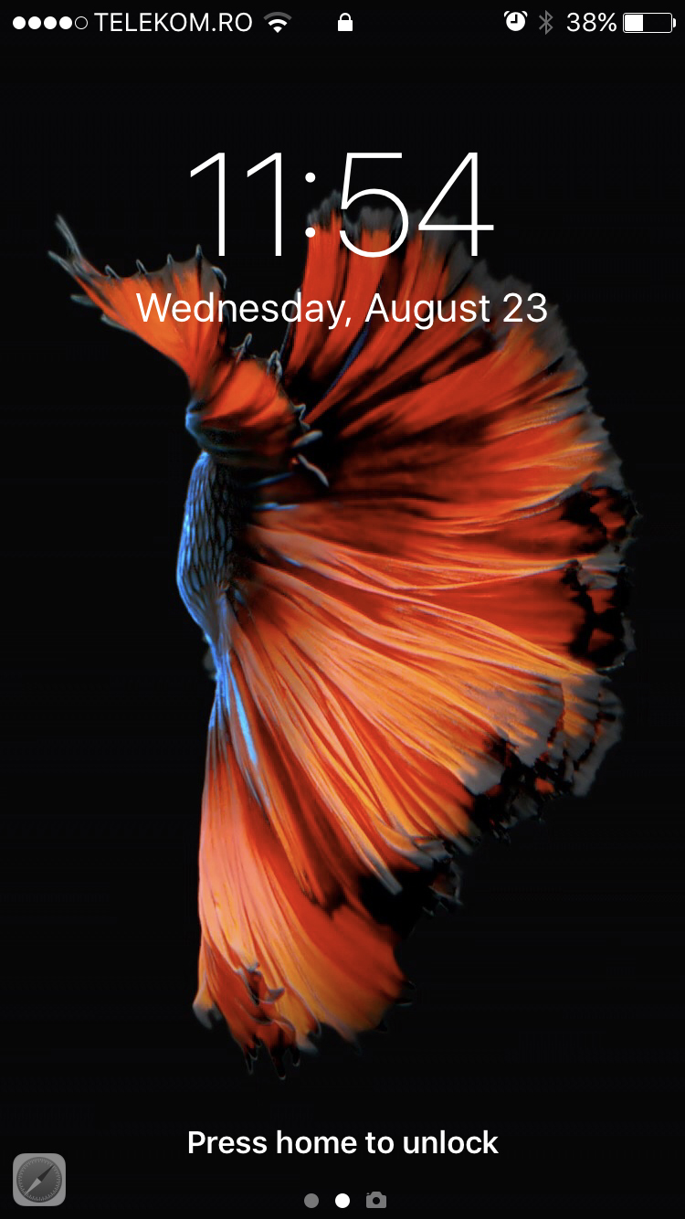 Live Fish Wallpapers With 3d Touch And Force Touch In Iphone 8 Ios 11 Ihowto Tips How To Fix How To Do