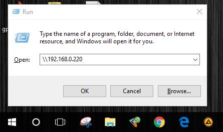 Smb Username And Password Windows 10