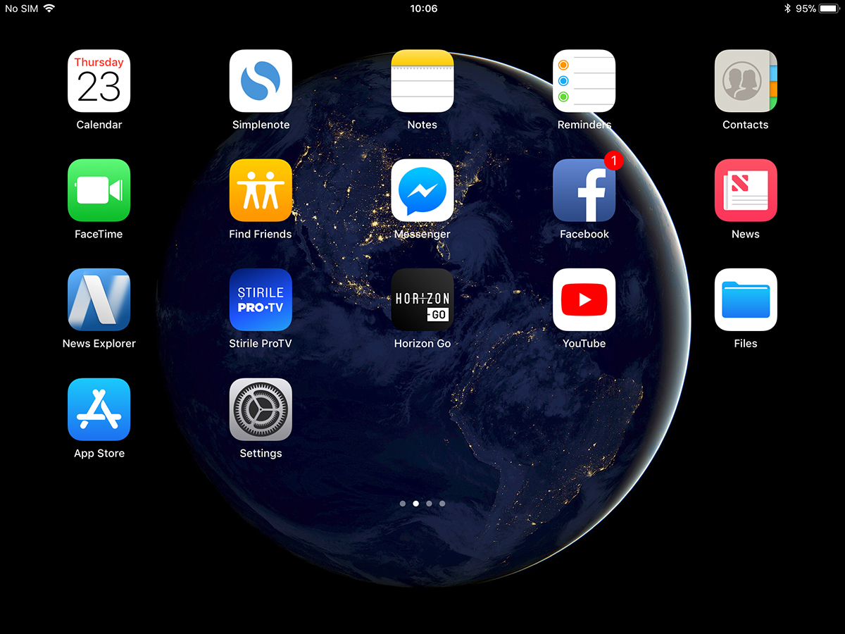 Disable Auto Hide iPad's Home Screen - iOS 11 - iHowTo Tips - How-To