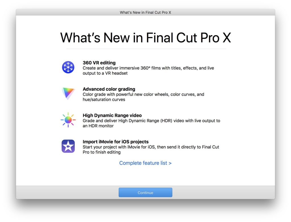 Final Cut Pro X 10 4 - Features & Free Download - iHowTo