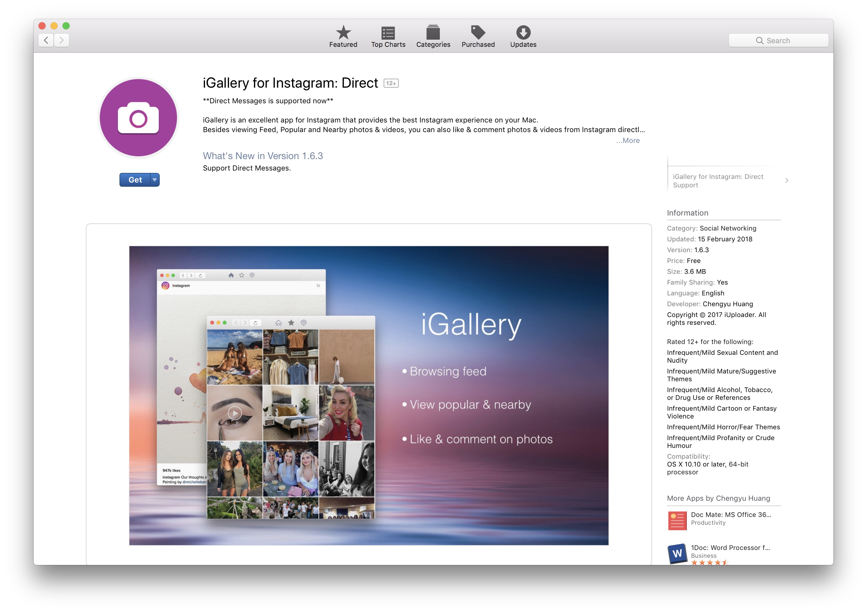The Best Instagram Application for MacOS / Mac - iHowTo Tips - How