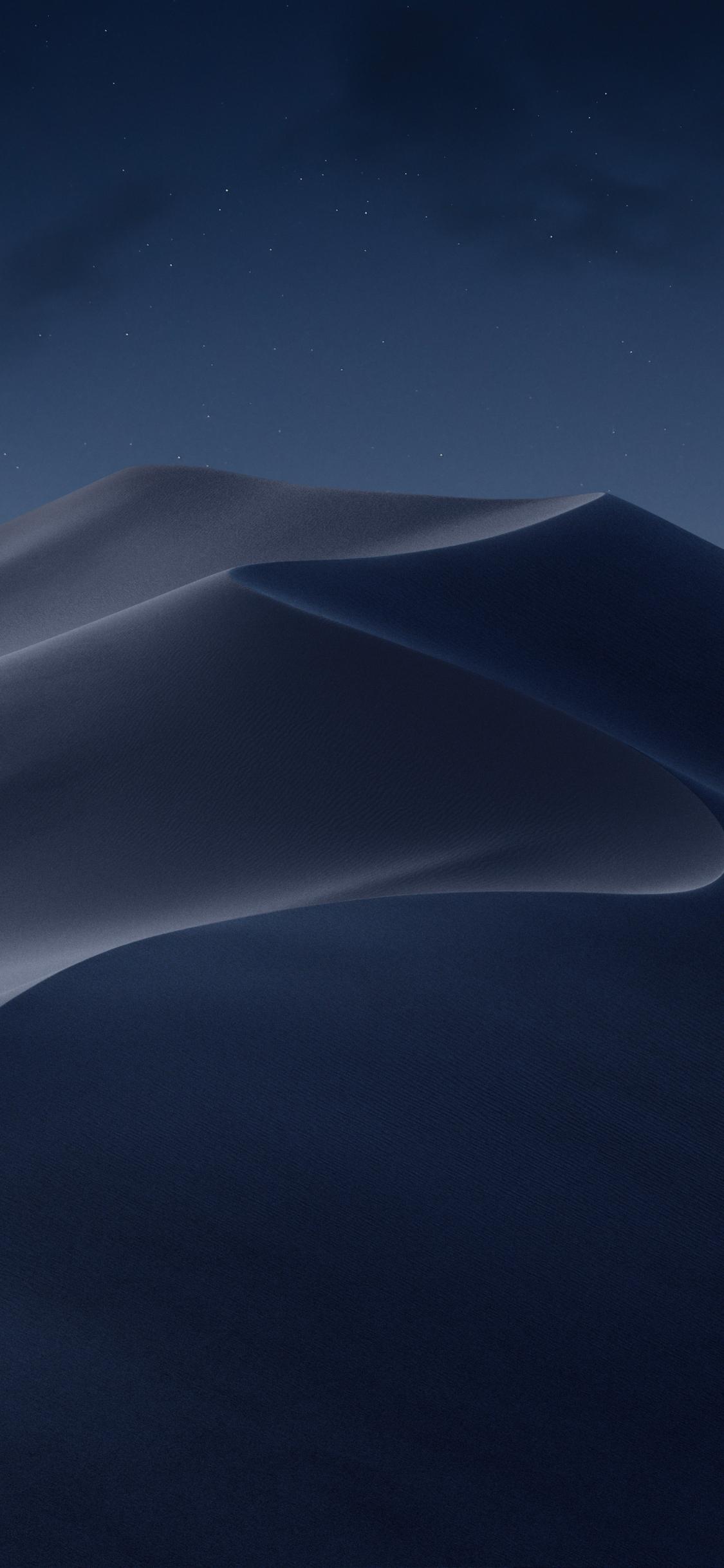 macOS mojave dark iphone wallpaper